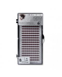 BDC 4D-Lashes B-Curl 0,07 - 9 mm