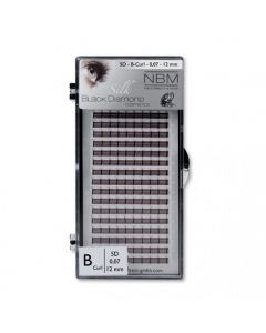 BDC 5D-Lashes B-Curl 0,07 - 12 mm
