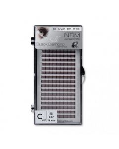 BDC 5D-Lashes C-Curl 0,07 - 14 mm