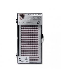 BDC 6D-Lashes C-Curl 0,07 - 9 mm