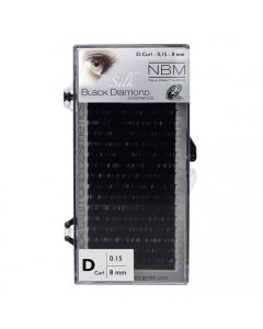 BDC Silk Lashes D-Curl 0,15 - 8mm