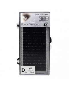 BDC Silk Lashes D-Curl 0,15 - 14mm