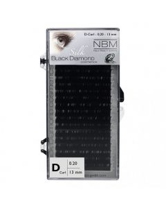 BDC Silk Lashes D-Curl 0,20 - 13mm
