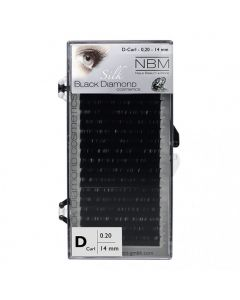 BDC Silk Lashes D-Curl 0,20 - 14mm