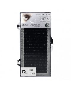 BDC Silk Lashes D-Curl 0,20 - 15mm