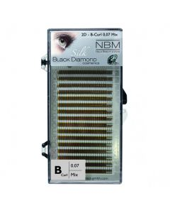 BDC 2D-Lashes B-Curl 0,07 Mix