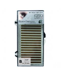 BDC 2D-Lashes B-Curl 0,07 - 8mm