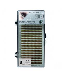 BDC 2D-Lashes B-Curl 0,07 - 15mm