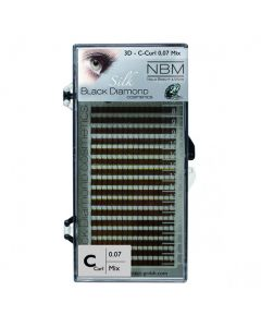 BDC 3D-Lashes C-Curl 0,07 Mix