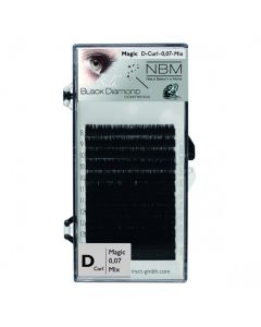 BDC Magic Volume Lashes D-Curl 0,07 Mix
