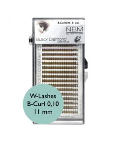 BDC W-Lashes B-Curl 0,10-11mm