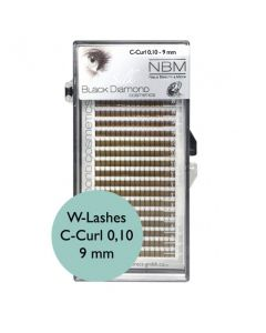 BDC W-Lashes C-Curl 0,10-9mm