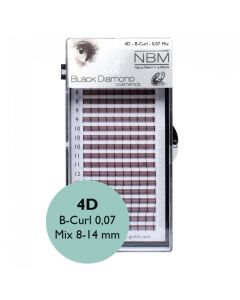 BDC 4D-Lashes B-Curl 0,07 Mix