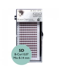 BDC 5D-Lashes B-Curl 0,07 Mix