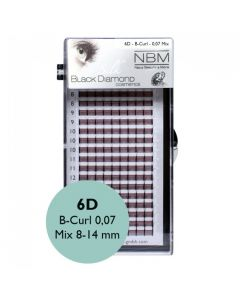 BDC 6D-Lashes B-Curl 0,07 Mix