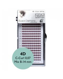 BDC 4D-Lashes C-Curl 0,07 Mix
