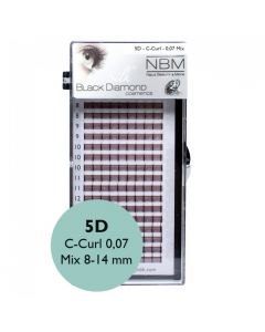 BDC 5D-Lashes C-Curl 0,07 Mix