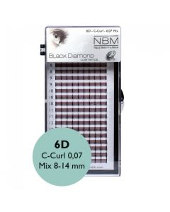 BDC 6D-Lashes C-Curl 0,07 Mix