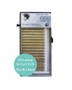 BDC W-Lashes B-Curl 0,10 Mix