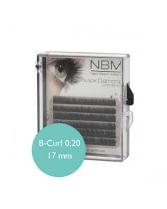 BDC Silk Lashes B-Curl 0,20-17mm Mini Tray