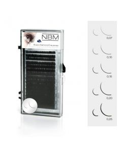 BDC Silk Lashes C-Curl 0,12 Mix