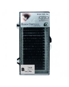 BDC Silk Lashes B-Curl 0,25 Mix