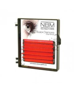 BDC Neon Lashes B-Curl 0,07 Mix red orange